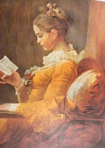 Jean Honore Fragonard (A Young Girl Reading)