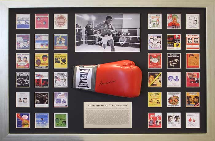 Sports Memorabilia Picture Framing