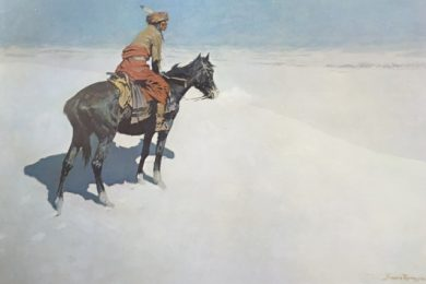 Frederic Remington, The Scout & Friends or Enemies