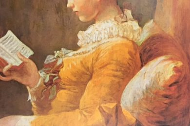 Jean Honore Fragonard, A Young Girl Reading