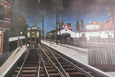 Paul Delvaux, Trains du Seir