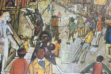 Phillip Evergood, The Sunny Side of the Street