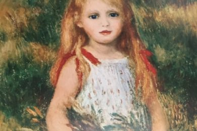 Renoir, Girl with Sheaf of Corn