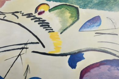 Wassily Kandinsky, Lyric, Man on Horse